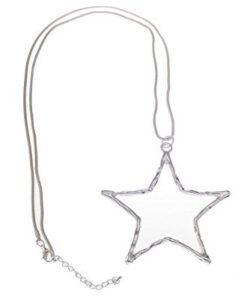 Necklace, Long, Pendant, Star