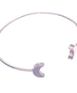 Bracelet, Moon Silver, Rose Gold