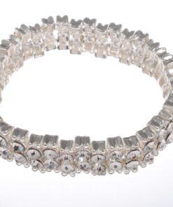 Swarovski Style Diamante Bracelet