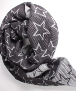 Waffle Scarf with Star