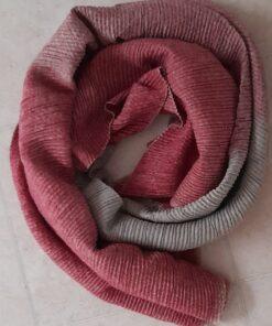 Waffle cosy scarf