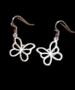 Drop Butterfly Earring